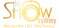 The Show Sydney Logo Makeup Hair Beauty SFX expo GOLD