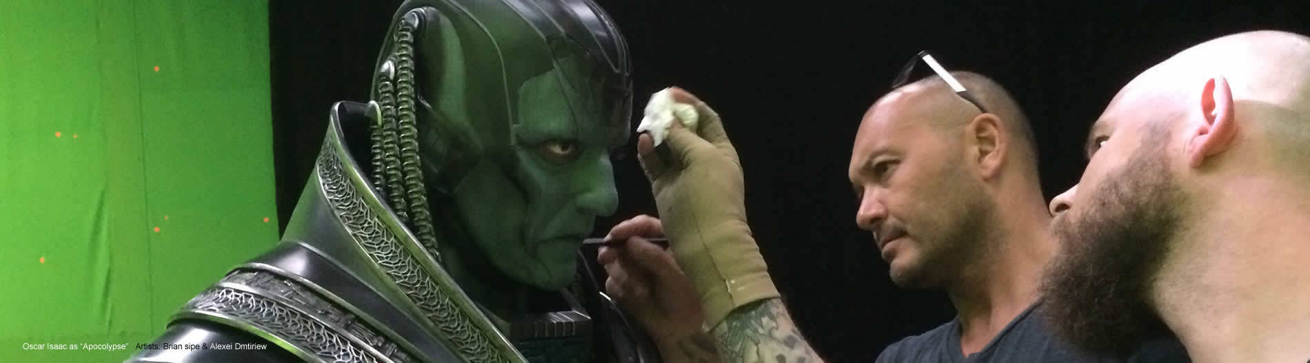 SFX Makeup and Movie green screen with brian sipe